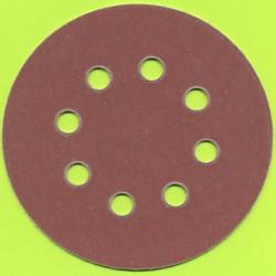 Kaindl Haft-Schleifscheiben HL – Ø 125 mm 8-fach gelocht, K320 sehr fein