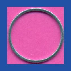 Kaindl Standard-Reduzierring glatt dünn – 22,23 mm (7/8'') / 20 mm, Stärke 1,2 mm