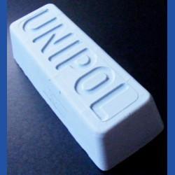 UNIPOL Universal-Hochglanz-Polierpaste blau – sehr großer Barren