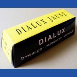 DIALUX JAUNE Vorpolierpaste für NE-Metalle braun – mittlerer Barren