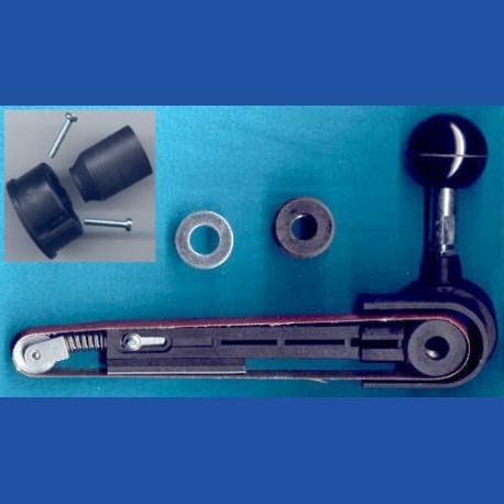 Kaindl Band-Schleiffeile –  für Bohrmaschinen und viele Einhand-Winkelschleifer