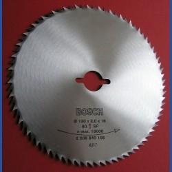 BOSCH Chrom-Vanadium-Sägeblatt für Kreissägen – Ø 130 mm, Bohrung 16 mm