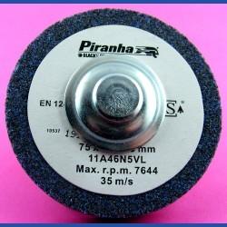 Piranhaby BLACK+DECKERKorund-Schleifstein sehr grob – mit Adapter für die Bohrmaschine