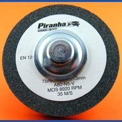 Piranhaby BLACK+DECKERKorund-Schleifstein grob – mit Adapter für die Bohrmaschine