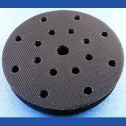rictools Super-Moosgummi-Pad für Rotations- und Exzenterschleifer – Ø 150 mm 17-fach gelocht