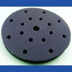 rictools Moosgummi-Pad für Rotations- und Exzenterschleifer – Ø 150 mm 17-fach gelocht