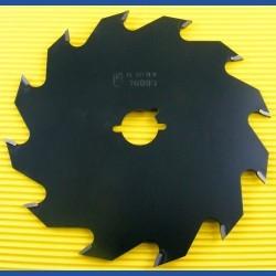 EDESSÖ Hartmetallbestücktes Kreissägeblatt Hobby Flachzahn grob antihaftbeschichtet – Ø 143 mm, Bohrung 19 mm (3/4'')