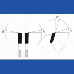 PRÄZISA Jännsch Hartmetall-Kreissägeblatt Type WH Wechselzahn fein – Ø 130 mm, Bohrung 16 mm