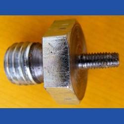 rictools Aufnahmeadapter für versenktes Gewinde M14 / Außengewinde M 5 – für kleine 12 V Akku-Winkelschleifer