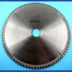 PRÄZISA Jännsch Hartmetall-Mehrzweck-Kreissägeblatt COMET, Type TF Trapez-Flachzahn negativ – Ø 250 mm, Bohrung 30 mm