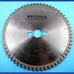PRÄZISA Jännsch HM-Kreissägeblatt  für Kapp- und Gehrungssägen, Type WH Wechselzahn negativ fein – Ø 250 mm, Bohrung 30 mm