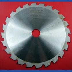 EDN Hartmetallbestücktes Kreissägeblatt WKN spezial für Kappsägen grob – Ø 250 mm, Bohrung 30 mm