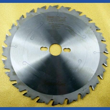 EDN Superline Hartmetallbestücktes Zuschneidsägeblatt LWS – Ø 250 mm, Bohrung 30 mm