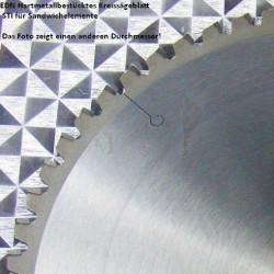 EDN Hartmetallbestücktes Kreissägeblatt STI für Sandwichelemente – Ø 190 mm, Bohrung 30 mm