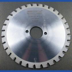 EDN Hartmetallbestücktes Stahl-Trenn-Kreissägeblatt STW ''Dry Cutter'' fein – Ø 216 mm, Bohrung 30 mm