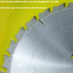 EDN Hartmetallbestücktes Zuschneidsägeblatt Typ LWZ – Ø 330 mm, Bohrung 30 mm