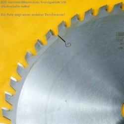 EDN Hartmetallbestücktes Kreissägeblatt UW Wechselzahn mittel – Ø 500 mm, Bohrung 30 mm