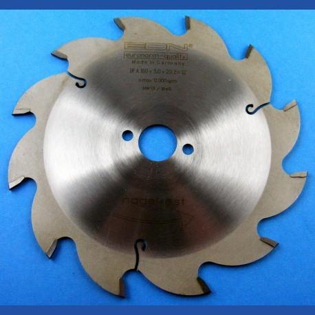 EDN Hartmetallbestücktes Baukreissägeblatt BFA blau ''nagelfest'' – Ø 160 mm, Bohrung 20 mm