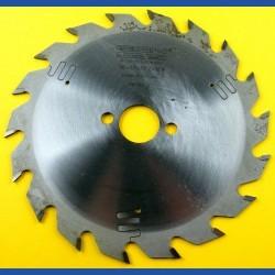 EDN Hartmetallbestücktes Kreissägeblatt Serie 05 gelb Wechselzahn mittel extra dünn für Akkusägen – Ø 136 mm, Bohrung 20 mm