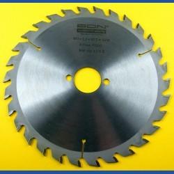 EDN Hartmetallbestücktes Kreissägeblatt Serie 05 gelb Wechselzahn mittel – Ø 190 mm, Bohrung 30 mm
