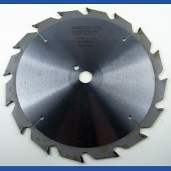 EDN Hartmetallbestücktes Kreissägeblatt Serie 05 weiß Flachzahn grob – Ø 200 mm, Bohrung 16 mm