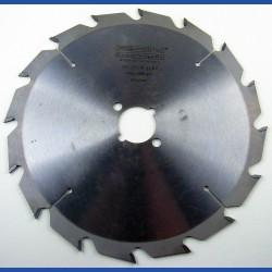 EDN Hartmetallbestücktes Kreissägeblatt Serie 05 weiß Flachzahn grob – Ø 210 mm, Bohrung 30 mm