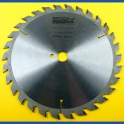 EDN Hartmetallbestücktes Kreissägeblatt Serie 05 gelb Wechselzahn mittel – Ø 190 mm, Bohrung 16 mm