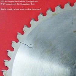 EDN Hartmetallbestücktes Kreissägeblatt WKN spezial für Kappsägen fein – Ø 305 mm, Bohrung 30 mm
