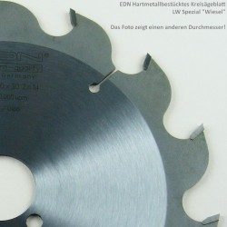 """EDN Hartmetallbestücktes Kreissägeblatt LW Spezial """"Wiesel"""" – Ø 230 mm, Bohrung 30 mm"""