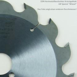 """EDN Hartmetallbestücktes Kreissägeblatt LW Spezial """"Wiesel"""" – Ø 370 mm, Bohrung 30 mm"""