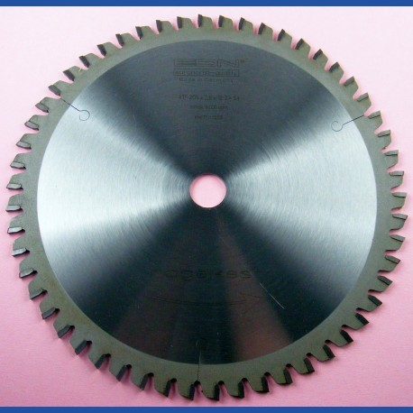 EDN Hartmetallbestücktes Kreissägeblatt ATF Allround grün – Ø 205 mm, Bohrung 18 mm
