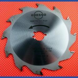 EDESSÖ Hartmetallbestücktes Handkreissägeblatt Profi Grobzahn – Ø 150 mm, Bohrung 19 mm (3/4'')