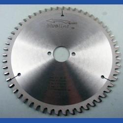 blueline by AKE Aluminium-Kreissägeblatt HW negativ sehr fein – Ø 210 mm, Bohrung 30 mm