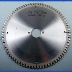 blueline by AKE Aluminium-Kreissägeblatt HW negativ extra fein – Ø 216 mm, Bohrung 30 mm