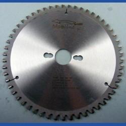 blueline by AKE Aluminium-Kreissägeblatt HW negativ sehr fein – Ø 220 mm, Bohrung 30 mm