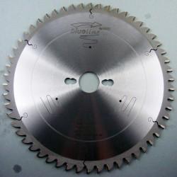 blueline by AKE Aluminium-Kreissägeblatt HW negativ fein – Ø 250 mm, Bohrung 30 mm