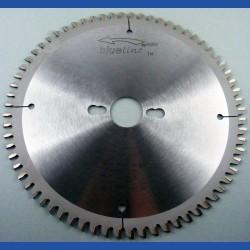 blueline by AKE Aluminium-Kreissägeblatt HW negativ extra fein für Sägen von Festool – Ø 225 mm, Bohrung 30 mm