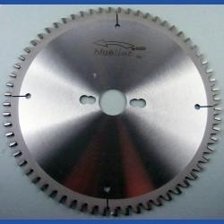 blueline by AKE Aluminium-Kreissägeblatt HW negativ sehr fein – Ø 235 mm, Bohrung 30 mm