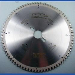 blueline by AKE Aluminium-Kreissägeblatt HW negativ extra fein – Ø 250 mm, Bohrung 30 mm