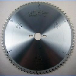 blueline by AKE Aluminium-Kreissägeblatt HW negativ sehr fein – Ø 300 mm, Bohrung 30 mm