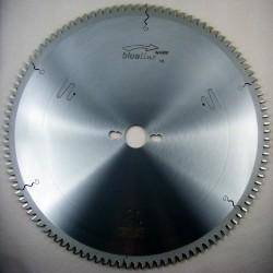 blueline by AKE Aluminium-Kreissägeblatt HW negativ extra fein – Ø 350 mm, Bohrung 30 mm