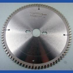 blueline by AKE Aluminium-Kreissägeblatt HW negativ extra fein für Sägen von Festool – Ø 230 mm, Bohrung 30 mm