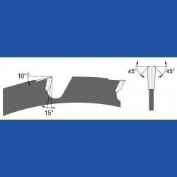 blueline by AKE Baukreissägeblatt HW Trapezzahn grob – Ø 315 mm, Bohrung 30 mm