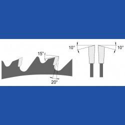 blueline by AKE Universalkreissägeblatt HW spandickenbegrenzt grob – Ø 250 mm, Bohrung 30 mm