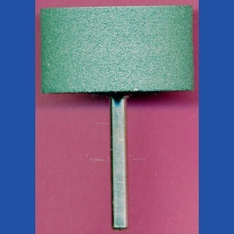 KING Siliciumcarbid-Schleifstein mit Bohrfutter-Aufnahme