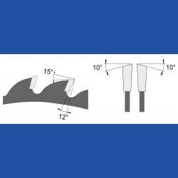 blueline by AKE Universalkreissägeblatt HW mittel – Ø 250 mm, Bohrung 30 mm