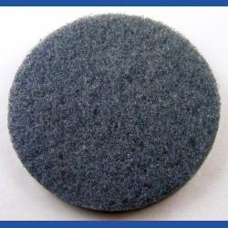 rictools Haft-Reinigungsvlies – Ø 125 mm, schwarz, sehr hart, abrasiv