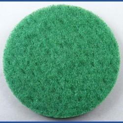 rictools Haft-Reinigungsvlies – Ø 125 mm, grün, hart, leicht abrasiv
