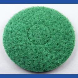 rictools Haft-Reinigungsvlies – Ø 150 mm, grün, hart, leicht abrasiv