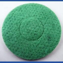 rictools Haft-Reinigungsvlies – Ø 200 mm, grün, hart, leicht abrasiv
